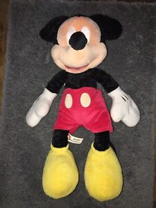 """Authentic Disney Parks~Mickey Mouse~Plush~ 18"""" Tall~ With Tags"""