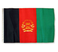 """12x18 12/""""x18/"""" Country of Afghanistan Boat Motorcycle Flag Grommets"""