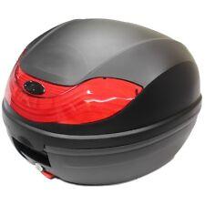 RYDE 32L BLACK MOTORCYCLE BACK BOX/TOPBOX LUGGAGE/HELMET STORAGE MOTORBIKE/BIKE