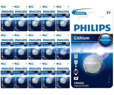 16 x Philips CR2025 3V Lithium Button Battery Coin Cell DL2025 for Car Key Fobs