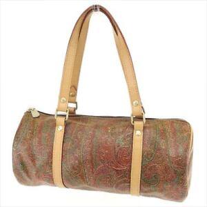 ETRO handbag paisley ladies used T6703