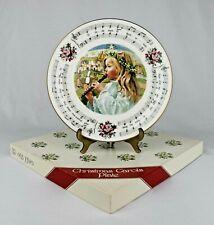 "Royal Doulton ""O Little Town Of Bethlehem"" 1984 Christmas Carols Collector Plate"