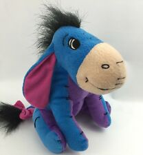 Disney Eeyore Plush Toy Donkey Stuffed Animal Winnie The Pooh Blue Purple