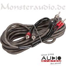 Audio System Z-EVO 3m 2-Kanal Cinchkabel abgeschirmt Auto-Hifi-Cinch 300cm