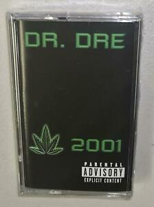 DR DRE 2001 (2019) BRAND NEW SEALED LIMITED EDITION CASSETTE TAPE SNOOP DOGG