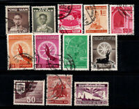 Thailand 1947-1961 Gestempelt 100% König Bhumibol, Kultur