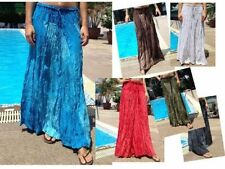 Rayon Peasant, Boho Unbranded Machine Washable Skirts for Women