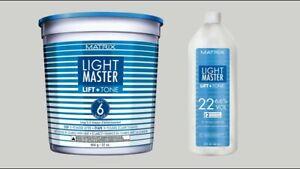 MATRIX ColourGraphics/LIGHT MASTER Lift and Tone-Toner-Powder-Promoter-Choose