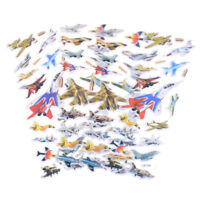 6Sheets Creative Airplane Flying Scrapbooking Bubble Stickers Reward Kids Toy YH