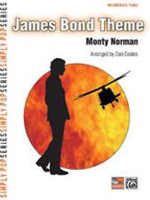 James Bond Theme Intermediate Piano; Norman arr Coates, D, Piano Solo - 27722