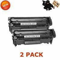 2PCS Q2612A 12A Toner Cartridge for HP LaserJet 1010 1020 1022n 1022nw 3050 3052