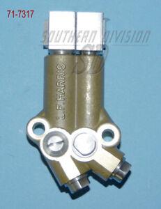 Triumph unit Ölpumpe 4 ventil Harris made oilpump 4 valve 71-7317 latest version