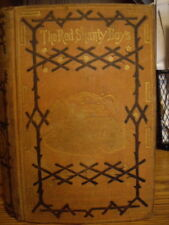 """1871 """"The Red-Shanty Boys"""" by Park Ludlow, A.M.  RARE 1st Edition String-bound"""