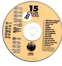 Sunfly Most Wanted 858 15 Massive Hits CDG Karaoke SMW858
