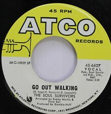 Soul 45 The Soul Survivors - Go Out Walking / Turn Out The Fire On Atco