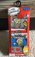 Primark Men's Christmas Themed The Simpsons 5pk Socks Size 9-12