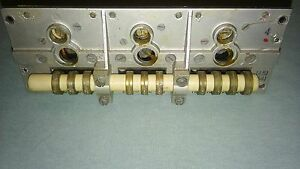 Torn eb Wehrmacht ww2 Empfanger - frequency coil segment no 4 - 541 to 977kHZ