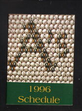Oakland Athletics--1996 Pocket Schedule--Lucky