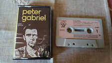 PETER GABRIEL CINTA TAPE CASSETTE K7 SPANISH EDITION 1980 CHRISMA 71 64 097