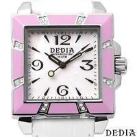 DEDIA 16 Diamonds Brand New Mother of Pearl Dial Swiss Movement Luxury Watch NIB