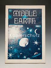 Heft MIDDLE EARTH Nummer 1 von 1972