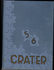 1956 Medford High School Yearbook, The Crater, Medford Oregon
