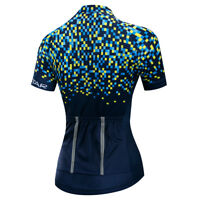 Women's Cycling Jersey Clothing Bicycle Sportswear Short Sleeve Bike Shirt  F71