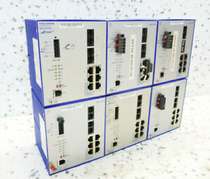 6x HIRSCHMANN RS2-FX/FX RAIL SWITCH. - set of 6