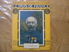 1917 WWI General Anthoine LE PAYS DE FRANCE 126 caricatures Piere Colombier WW1