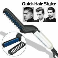 M'STYLER Professional Men's Heat Hair Styling QUICK HAIR STYLER Straightener