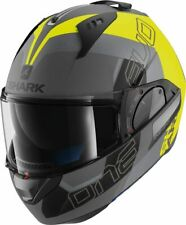 SHARK EVO ONE 2 HELMET - SLASHER MAT AYK- ANTHRACITE/YELLOW