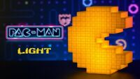 New Collector PAC-MAN Light Veilleuse Lampe Lamp Pixelated Style Official Sound