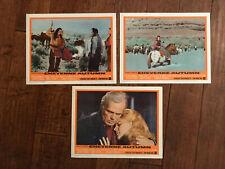 Cheyenne Autumn-     Lobby Cards 1964-   Richard Widmark