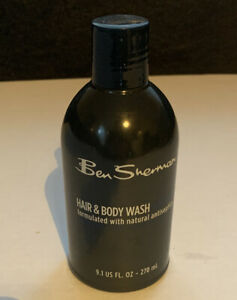 Ben Sherman Hair & Body Wash Gel For Men Eucalyptus Rosemary Extracts 9.1 Fl Oz