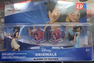 Disney Infinity Originals 2.0 Aladdin & Jasmine Toy box Video Game Accessories