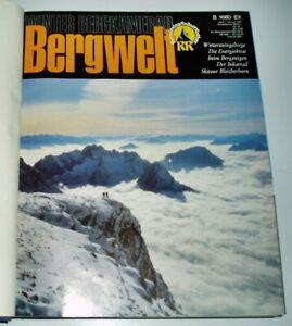 Bergwelt 1981 komplett Zeitschrift Jahrgang gebunden Alpin Wandern Alpen Touren