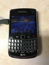 Used At&T BlackBerry Bold 9700 3G WiFi Black / Unlocked Smartphone