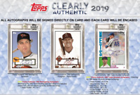 2019 TOPPS CLEARLY AUTHENTIC BASEBALL HOBBY LIVE RANDOM PLAYER 1 BOX BREAK #1