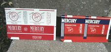 Vintage Mercury Cigarette Tobacco Packaging Labels...2 Different