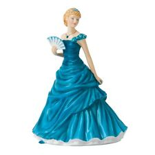 Royal Doulton December Turquoise Birthstone Petite Figurine DISCONTINUED