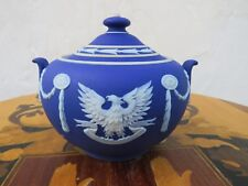 Wedgwood Jasper Ware Washington Inauguration Sesquicentennial Sugar Bowl (1939)