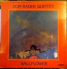 Sealed DON RADER QUINTET LP - WALLFLOWER - TREND / DISCOVERY, 1979  A. BROADBENT