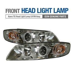 OEM Parts Front Headlight Lamp LH + RH Assembly for HYUNDAI 2006 - 2009 Azera