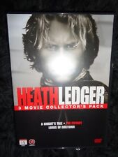 NEW 3 DVD Heath Ledger MOVIE PACK A Knght's Tale The Patriot & Lords of Dogtown