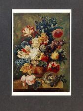 AK Brussel, Paulus Theodorus van Flower Piece NATIONAL GALLERY verlagsfrisch