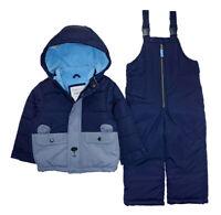 Canada Weather Gear Toddler Boys Blue 2pc Snowsuit Size 2T 3T 4T