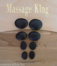 8 pc Basalt Toe Stones for Pedicure or Hot Stone Massage, Free shipping!