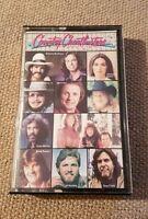 Country Chartbusters Cassette Tape Hank Williams jr Mel Tillis Guy Clark