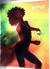 APPLE IPOD Advertising Poster Original Backlit-Style Silhouette Girl 2007 52x68""