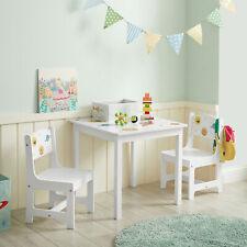 Kindertisch-Set, Kindermöbel, 3-teilig, Tisch mit 2 Stühlen, für Kinderzimmer